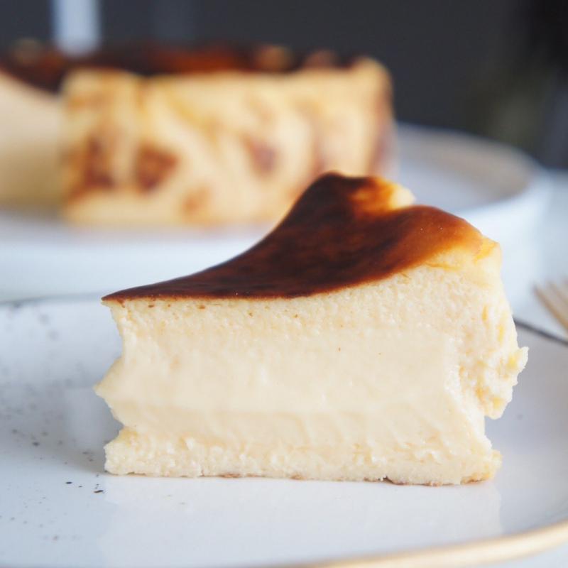 巴斯克起司蛋糕 / BASQUE BURNT CHEESE CAKE