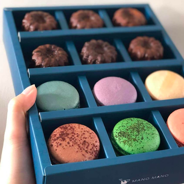 馬卡龍可麗露雙饗禮盒 / Macaron Canele Giftbox