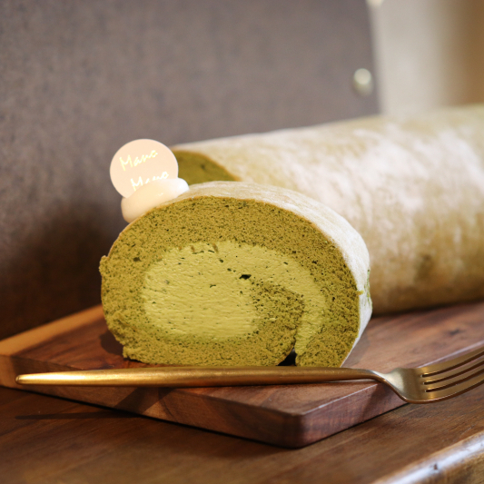 森半抹茶生乳卷 / Mocha Cake Roll