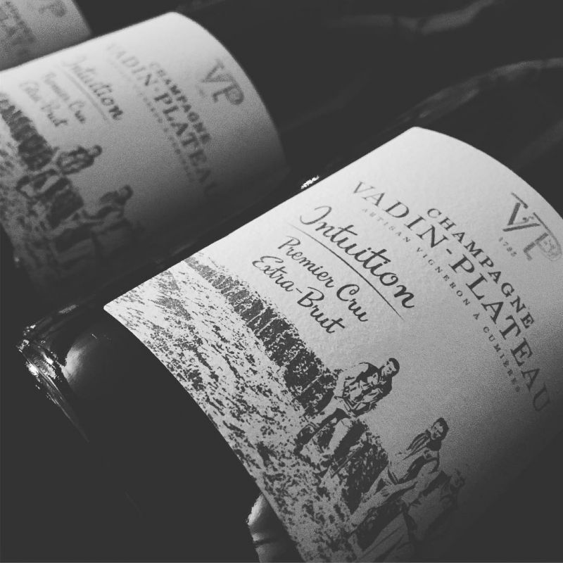 法國 VADIN PLATEAU, INTUITION 直覺, 一極園特乾香檳