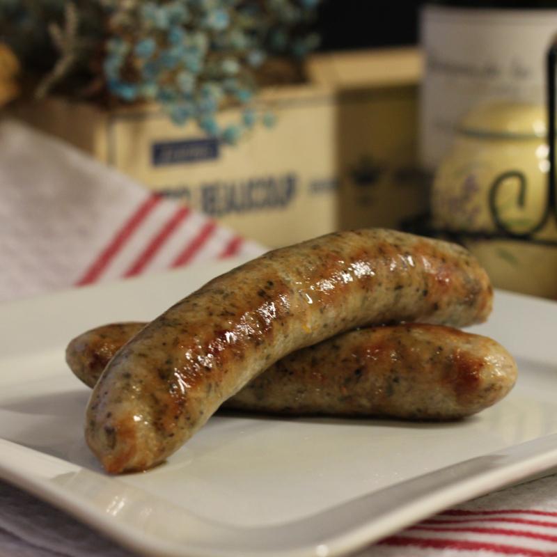 (2包)CHEZ BIX法式白酒手工肉腸/Toulouse Sausage