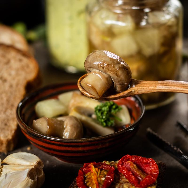 俄羅斯醃漬蘑菇 /Russian Pickled Mushrooms