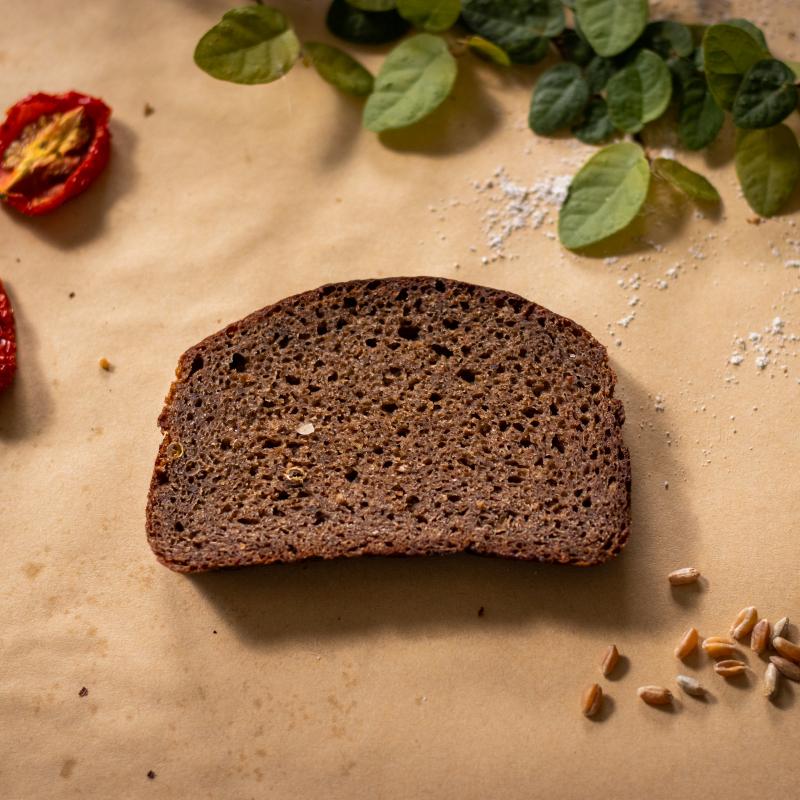 俄羅斯傳統裸麥酸麵包(大)&純素堅果起司醬 /Borodinsky (Big) + VEGAN NUTTY CHEESE SPREAD