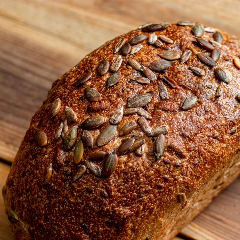 種子全麥酸麵包/Seeded Whole Wheat Sourdough