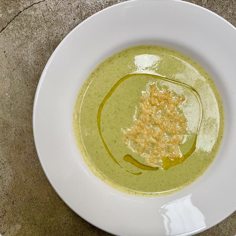 宅配-青花菜濃湯 / Creamy Broccoli Soup