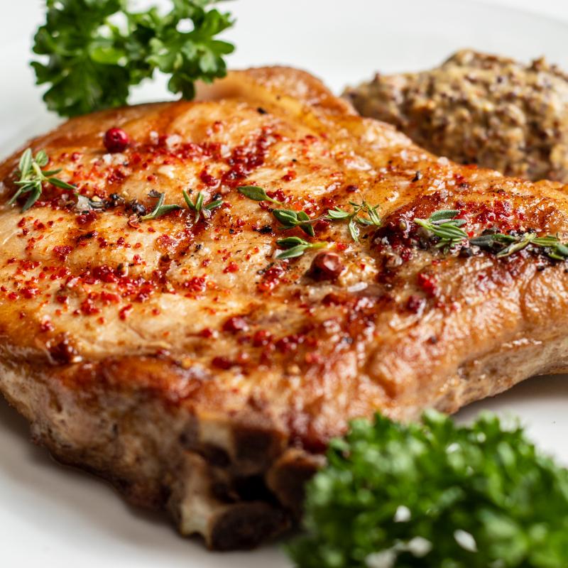 葛瑪蘭豬排佐傳統法式醬 / Kavalan Pork Chop