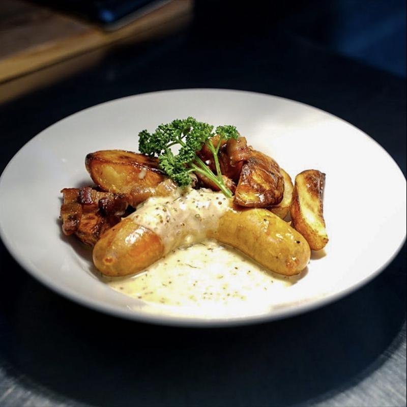 宅配-圖魯茲白酒香腸&鴨油烤珍珠馬鈴薯 / Toulouse white wine sausage & Baked potatoes