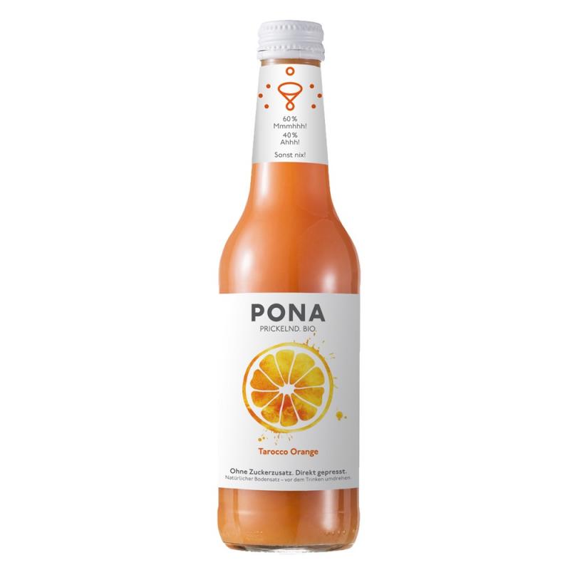 啵娜鮮榨氣泡血橙果汁