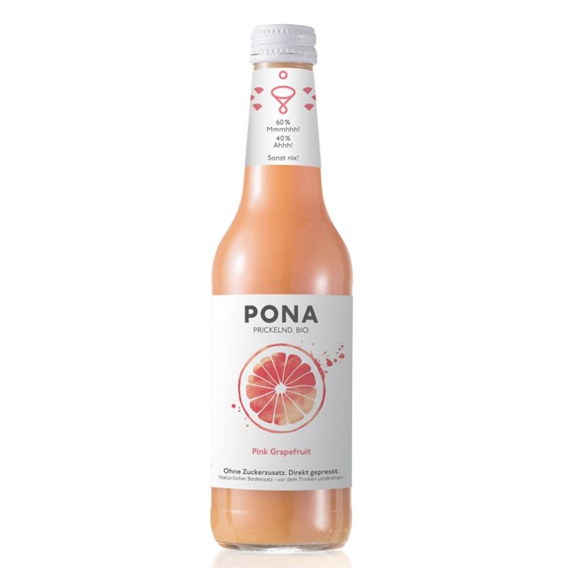 啵娜鮮榨氣泡葡萄柚果汁