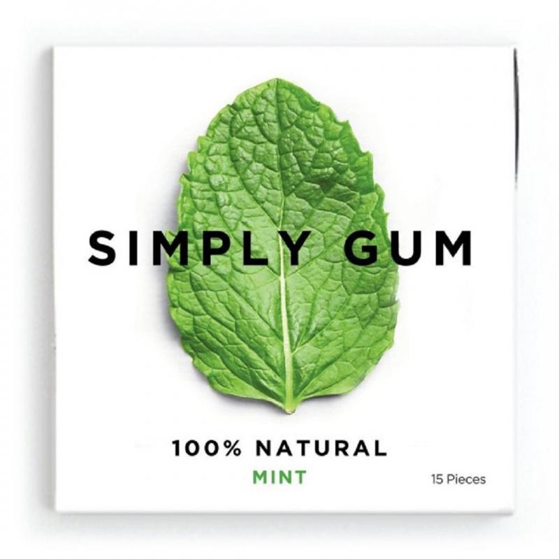 Simply Gum 單純   薄荷品味嚼糖組