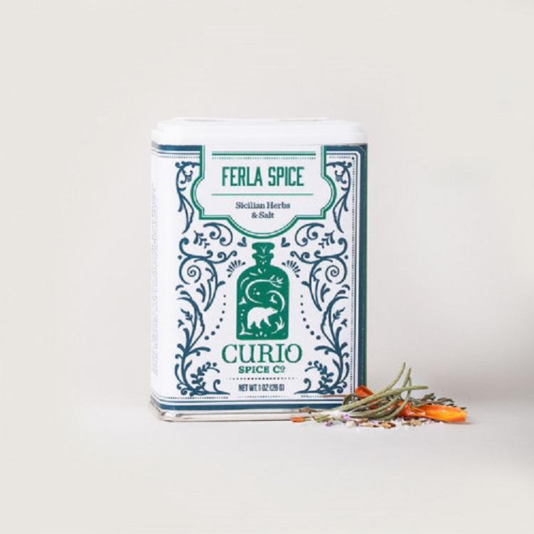 Curio Spice Co. 西西里複合香草鹽