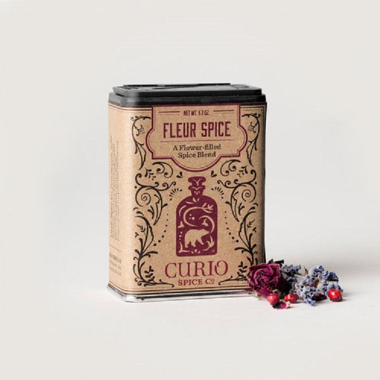 Curio Spice Co. 朱槿薔薇複合香料粉