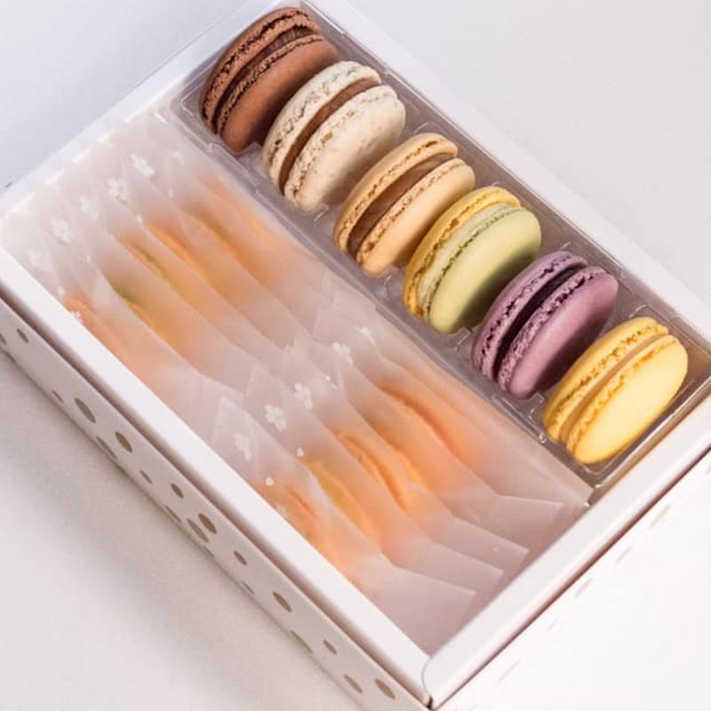1789 馬卡龍+貓舌餅乾禮盒