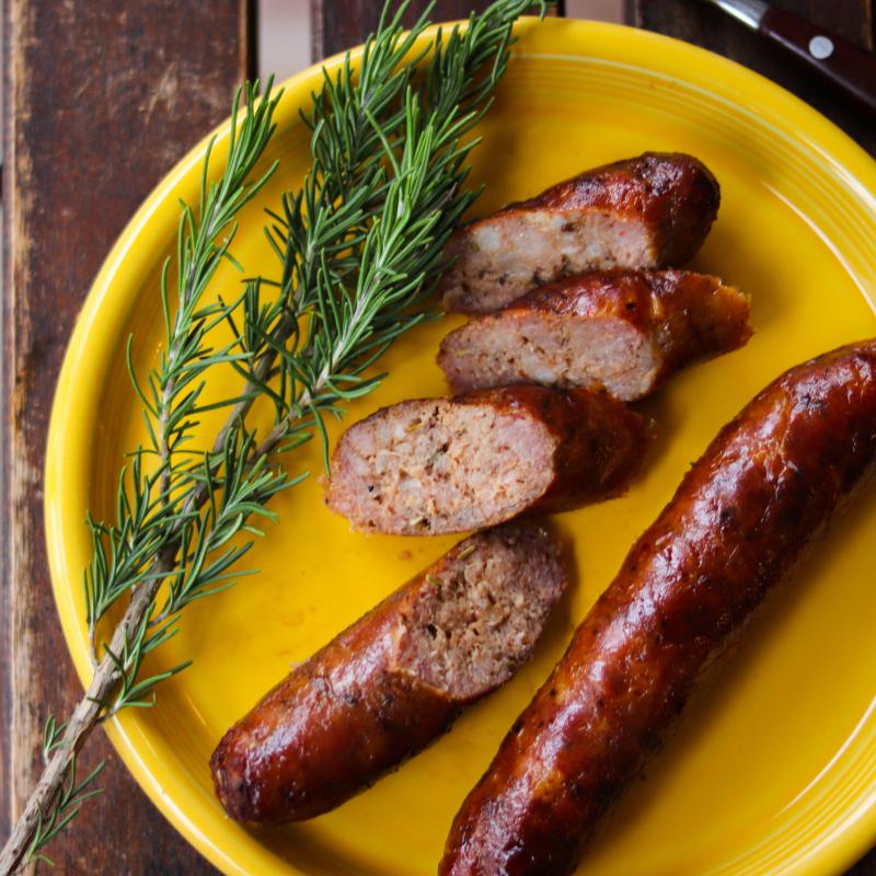 手工美式豬肉香腸 / Pork sausages