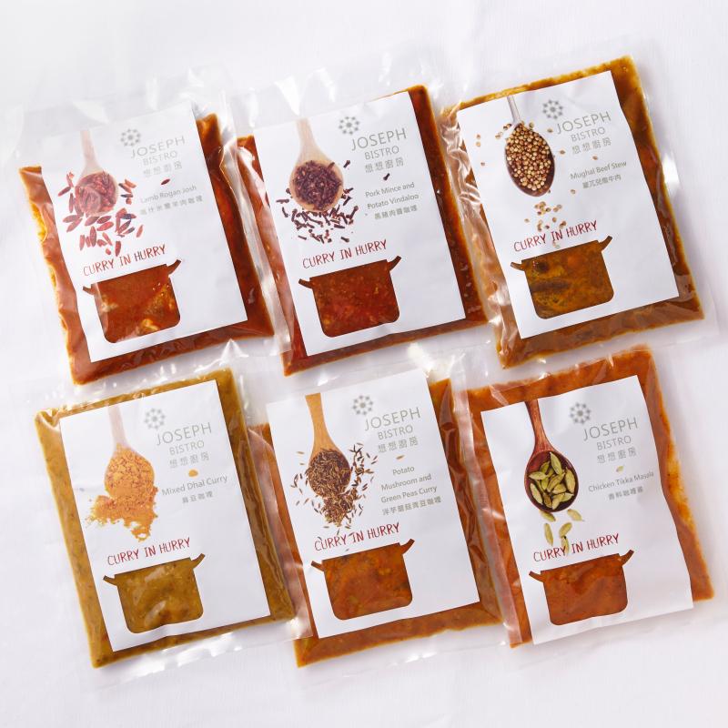 6種風味咖哩組 / Curry in Hurry 6 packs