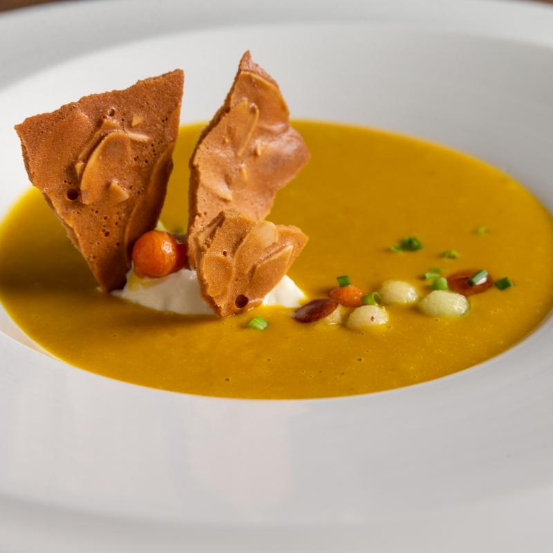 美顏蘋果紅蘿蔔濃湯 / Apple carrot soup