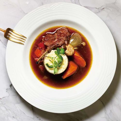 地中海香草燉羊肩排 / Ragoût d'agneau aux herbes Méditerranéennes Stew Lamb steak with Mediterranean herbs