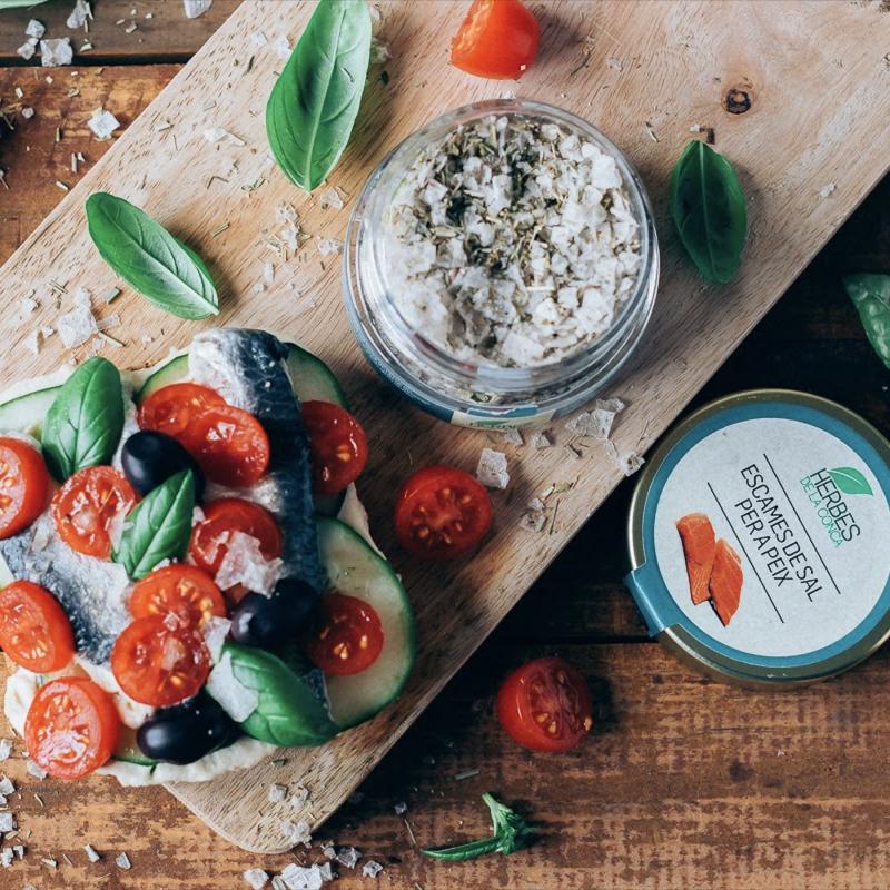 【歐洲有機農場直送】海鮮用香料風味雪花海鹽片
