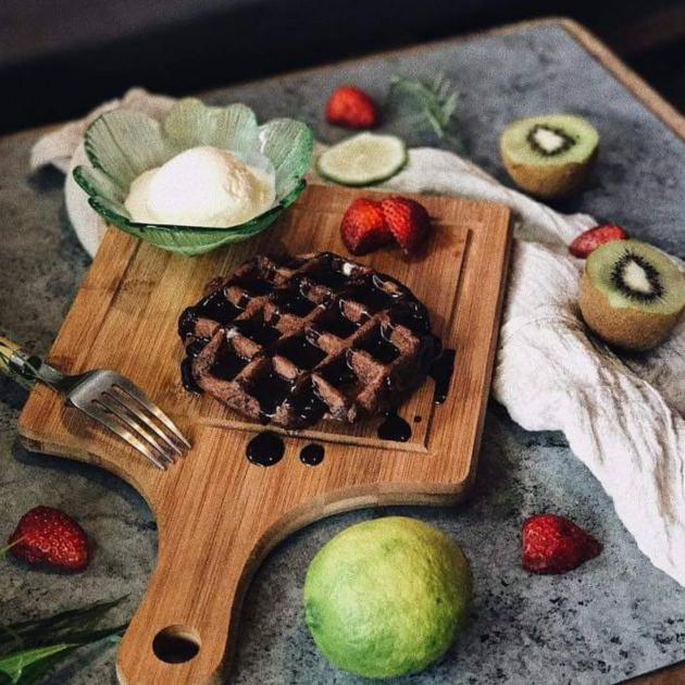比利時列日巧克力鬆餅 / Liege chocolate Waffle