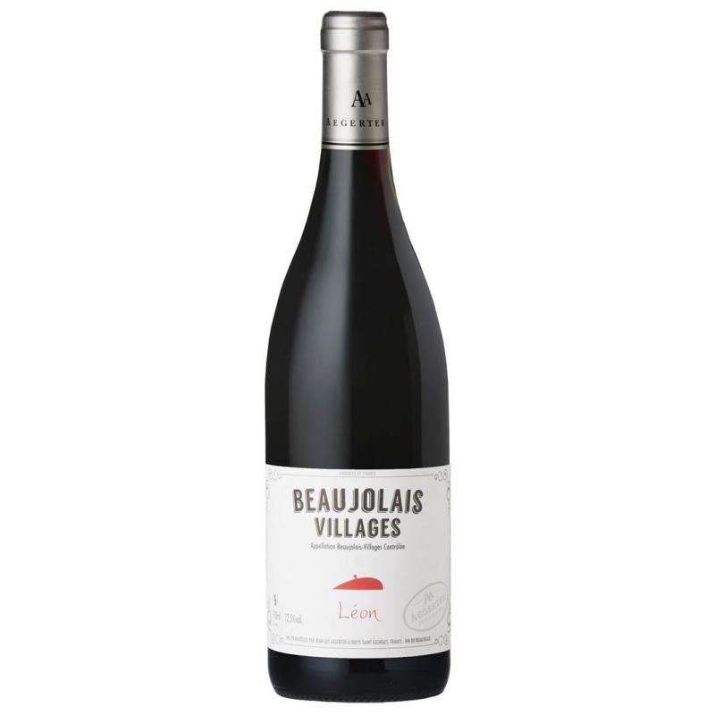 薄酒萊克萊特里昂村莊級紅葡萄酒 Beaujolais Villages Rouge colette et Léon 2018