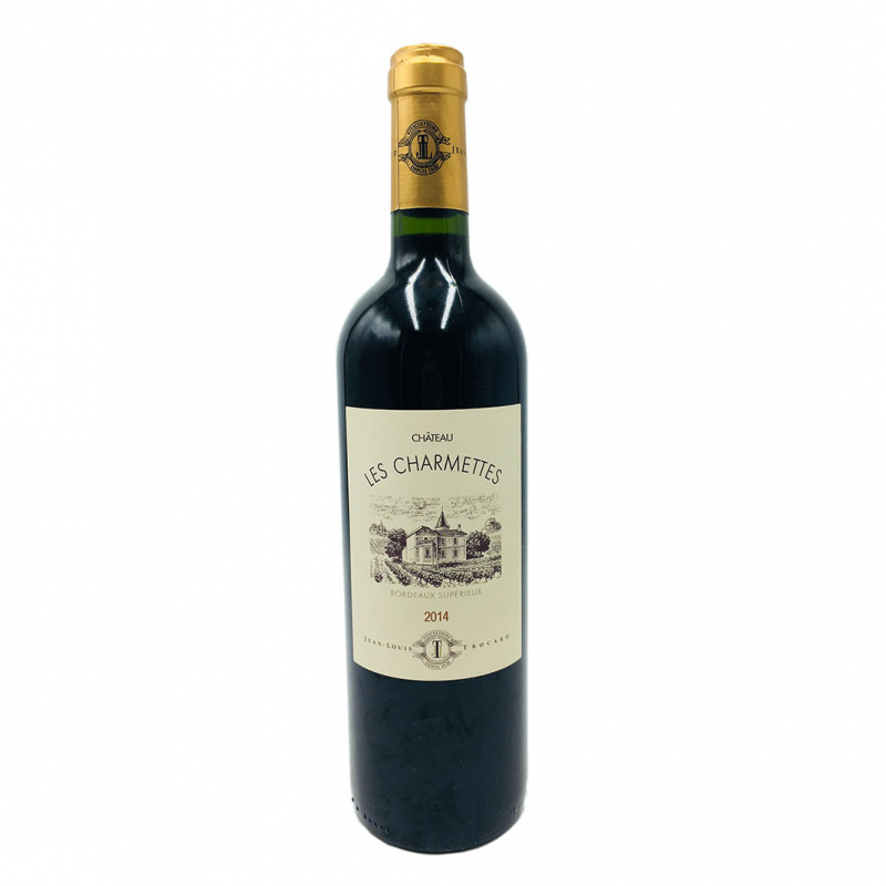 超級波爾多香寐紅葡萄酒 Chateau Les Charmettes Bordeaux Superieur 2014