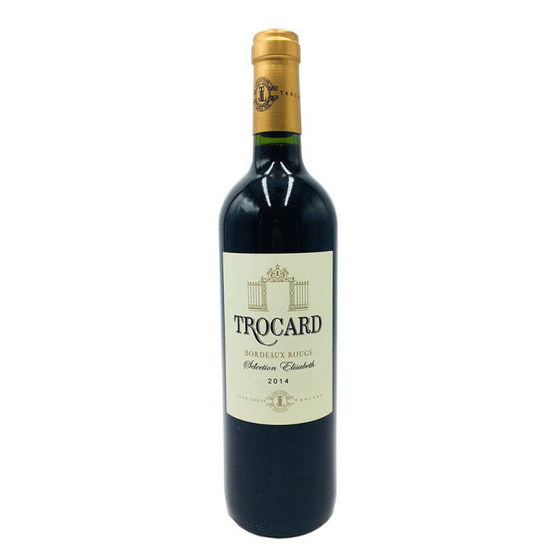 波爾多托卡紅葡萄酒 Trocard Rouge Bordeaux 2014