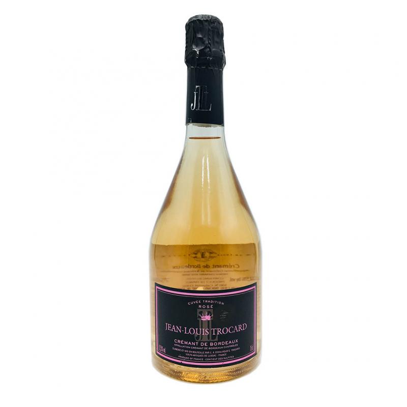 波爾多托卡克雷蒙粉紅氣泡葡萄酒 Trocard Crémant de Bordeaux Rosé