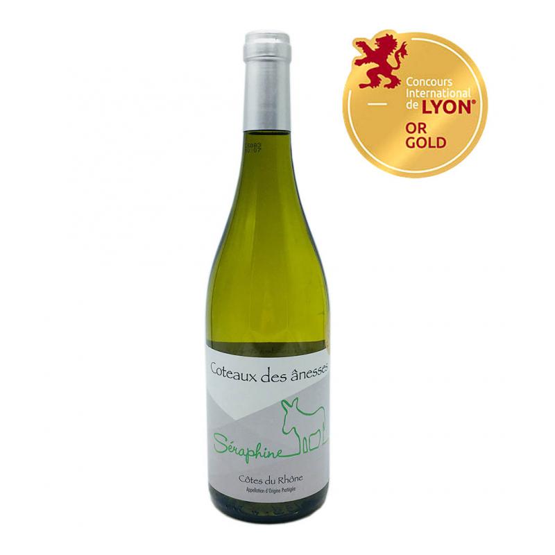 隆河阿涅斯白葡萄酒 Coteaux de ânesses Seraphine 2015