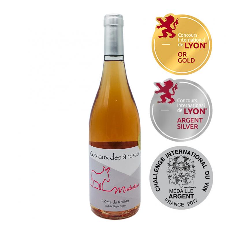 隆河阿涅斯粉紅葡萄酒 Coteaux de ânesses Modestine 2015
