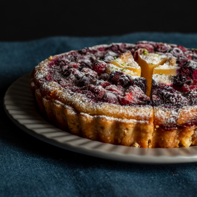 莓果塔 / Berries Almond Cream Tart