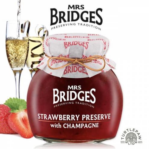 英橋夫人草莓香檳果醬(大)340g