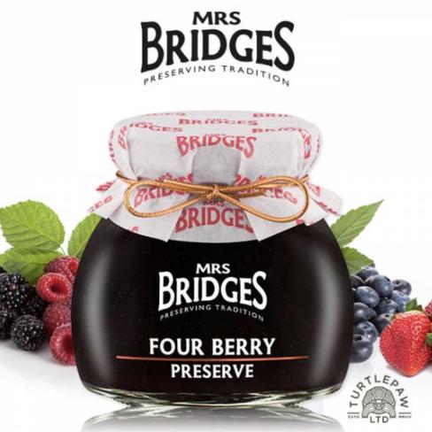 英橋夫人  莓果四重奏綜合果醬