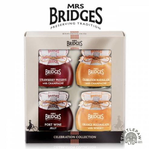 英橋夫人慶典果醬 *4  柑橘香檳、草莓香檳、柑橘威士忌、紅葡萄波特酒