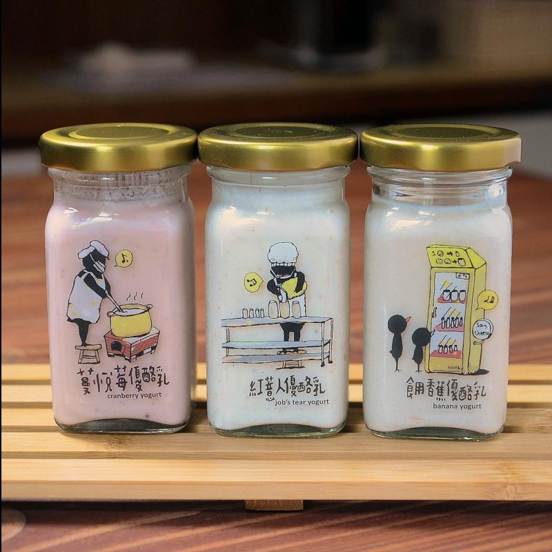 迷你瓶優酪乳組  (100g*5瓶組)