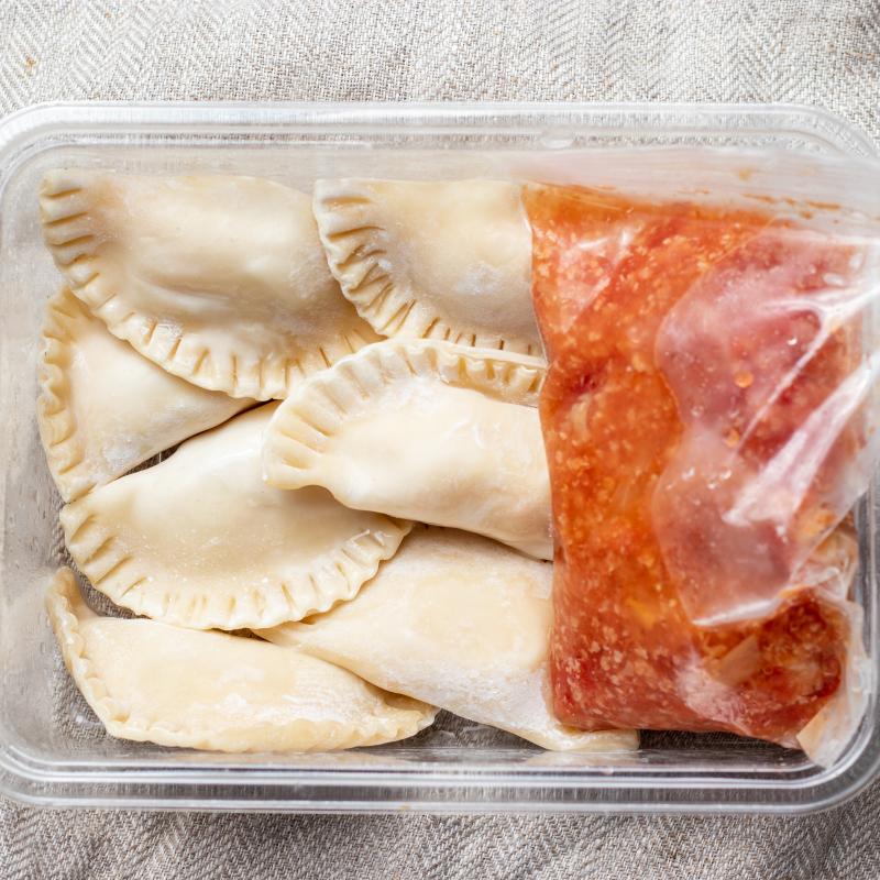 Ravioli 馬鈴薯乳酪餃 / Ravioli &tomato sauce