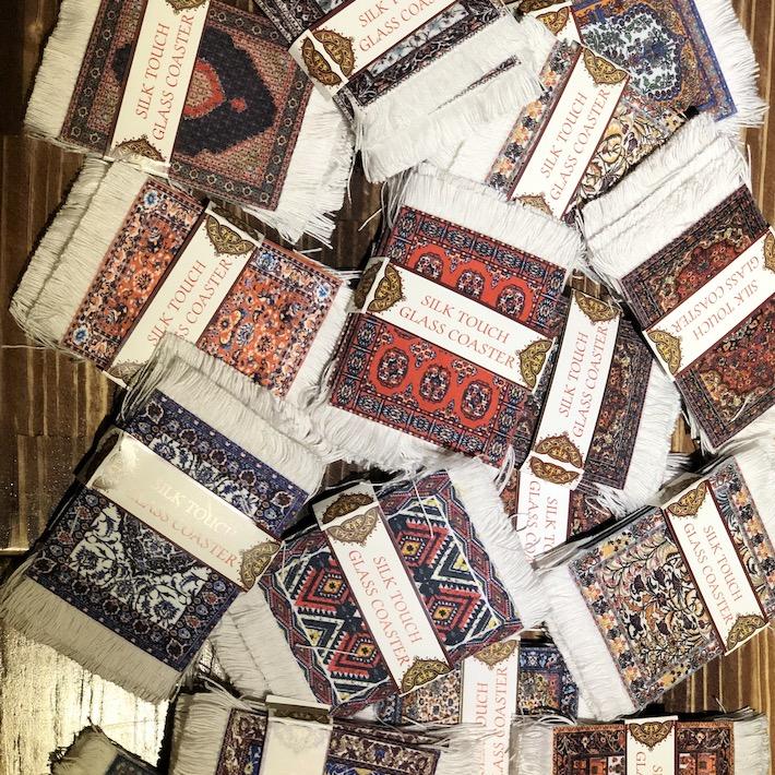 土耳其進口魔毯杯墊 / Carpet Coasters