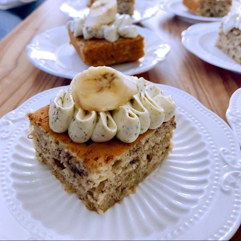 Yvonne的香蕉蕎麥蛋糕