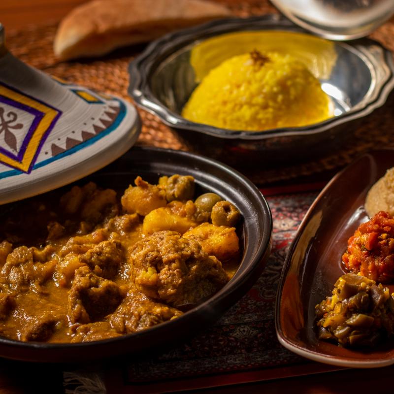 摩洛哥羊肉 /  Traditional Lamb