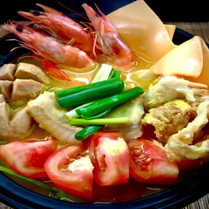 起士海鮮蕃茄咖哩湯