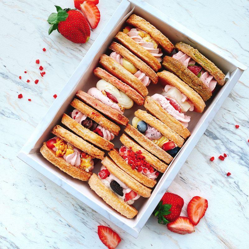 十入草莓達克瓦茲